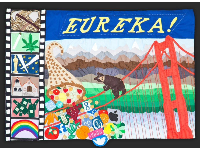 Quilts In Jest Social Commentary By Fiber Artist Phyllis Kluger