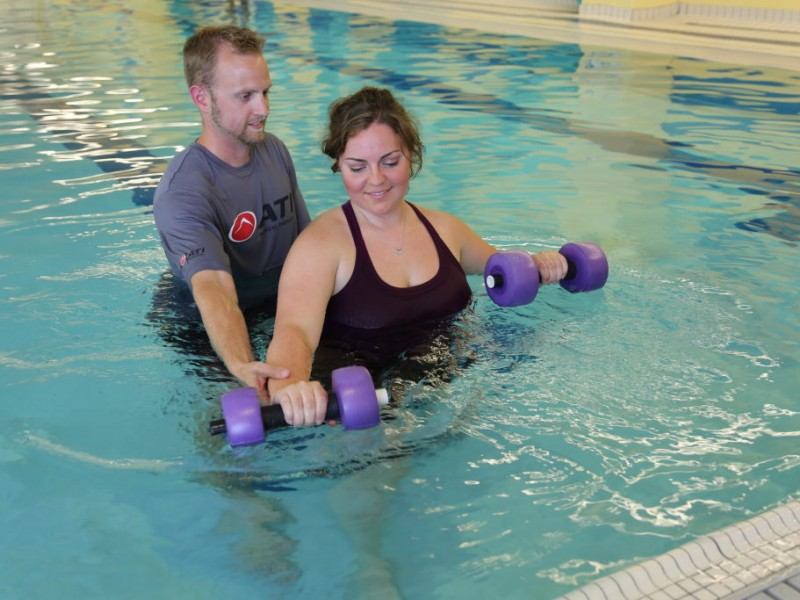 Aquatic Therapy Offers Relief For Patients No Swimming Skills Required Essex Md Patch