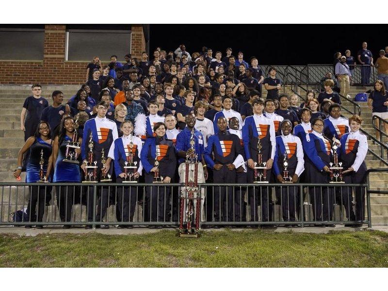 Cedar Shoals High School Band Wins Awards