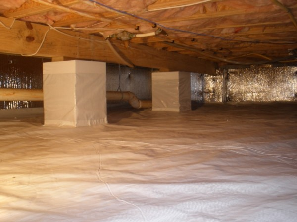 Foundation inspections bolting and concrete repairs for Concrete crawl space floor