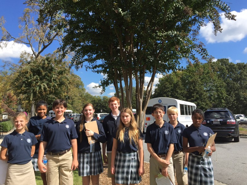 ... Cornerstone Middle School Visits Historic Norcross-0 ...