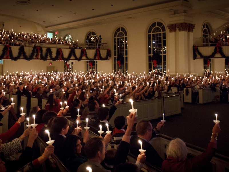 Christmas Eve Services at Peachtree Presbyterian Church ...
