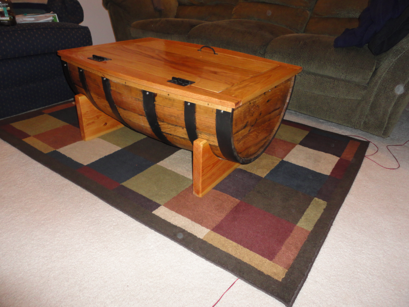 Wine Barrel Coffee Table Centreville Va Patch