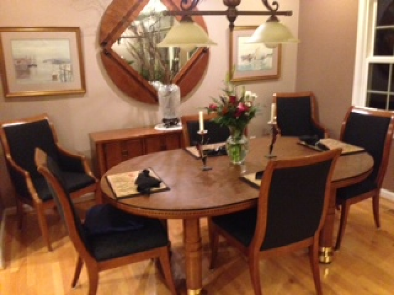 ... Hickory White Dining Set Including Buffet And Matching Mirror 0 ...