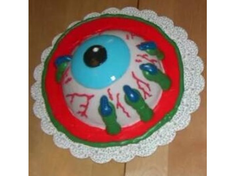 Learn To Make An Eyeball Cake For Halloween Bellmore Ny Patch