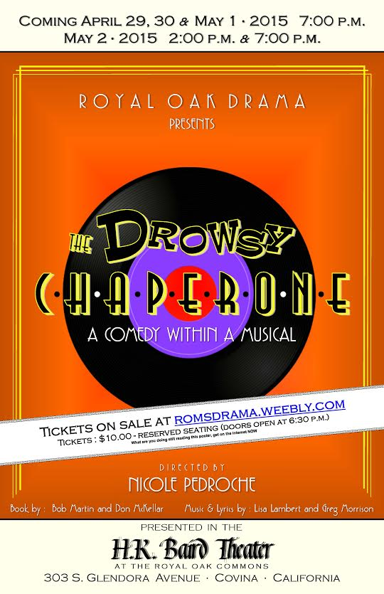 ROMS Musical - The Drowsy Chaperone! | Glendora, CA Patch