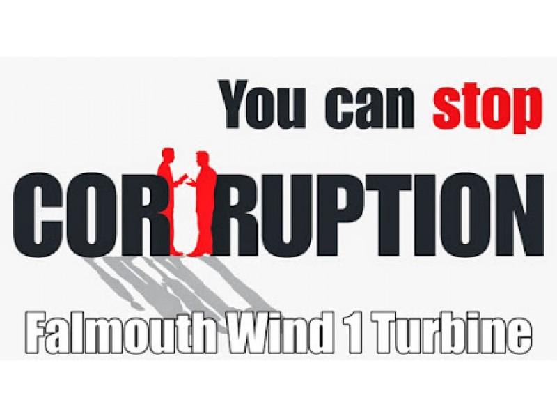 Mass Symbol Of Corruption Falmouth Wind Turbine 1 Falmouth Ma Patch