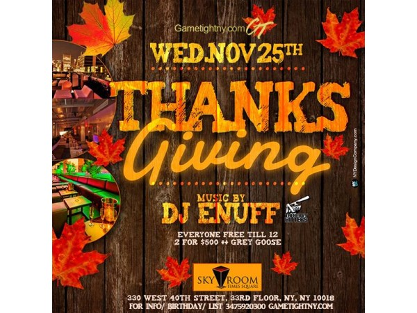 thanksgiving eve hoboken nj