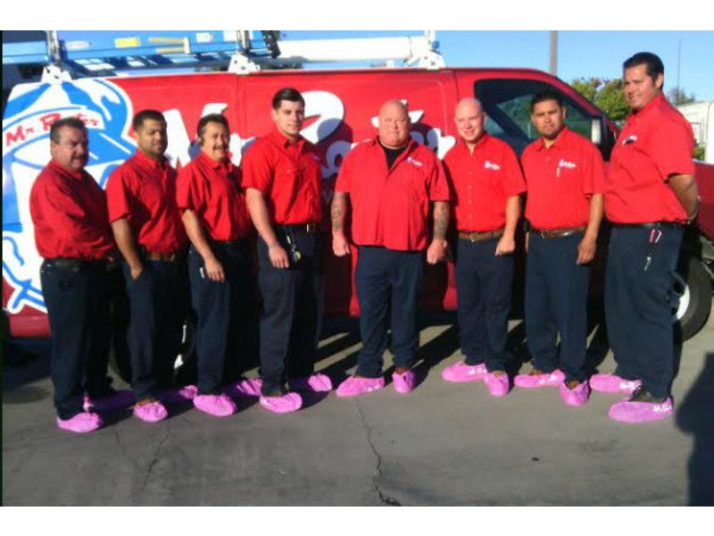 Why Are These Santa Cruz Area Mr Rooter Plumbers Wearing Pink Booties