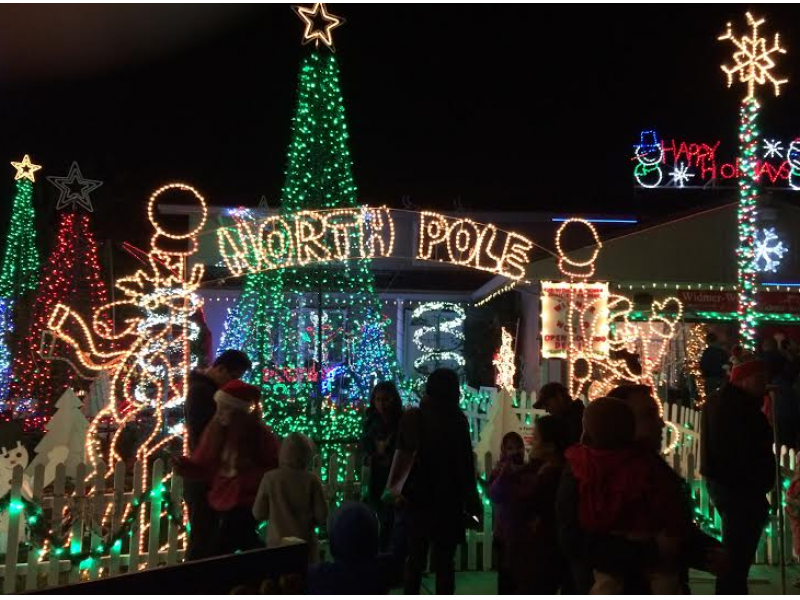 where are the best holiday lights in healdsburg and nearby - Clark Griswold Christmas Decorations
