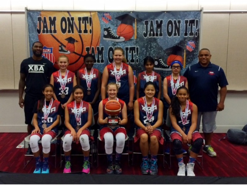 XBA WINS Third Place At AAU We...