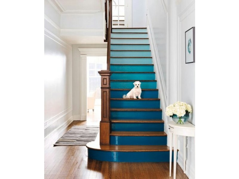 Diy staircase makeovers alpharetta ga patch for Diy staircase makeover