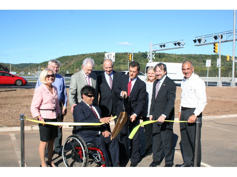 Route 22 And Chimney Rock Road Interchange Celebrated By