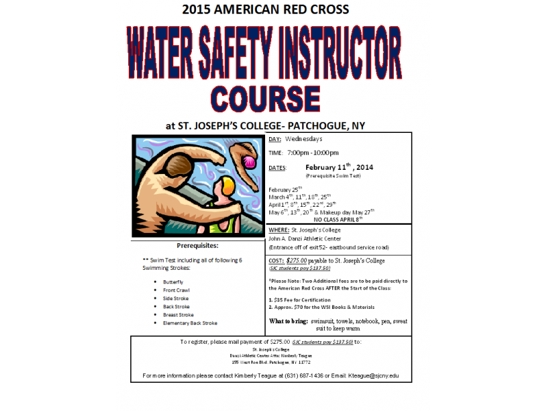 Water Safety Instructor Certification Course | Patchogue, NY Patch