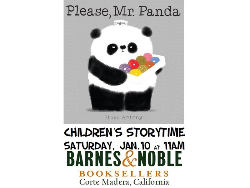 Storytime: Please, Mr. Panda by Steve Antony - Mill Valley, CA Patch