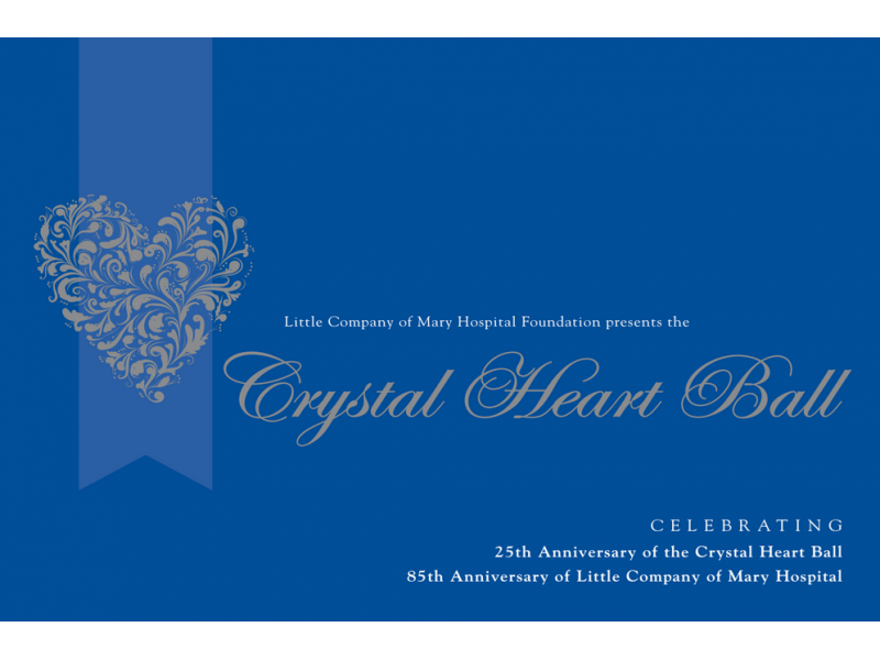 Little Company Of Mary Hosts 25th Crystal Heart Ball Oak Lawn Il
