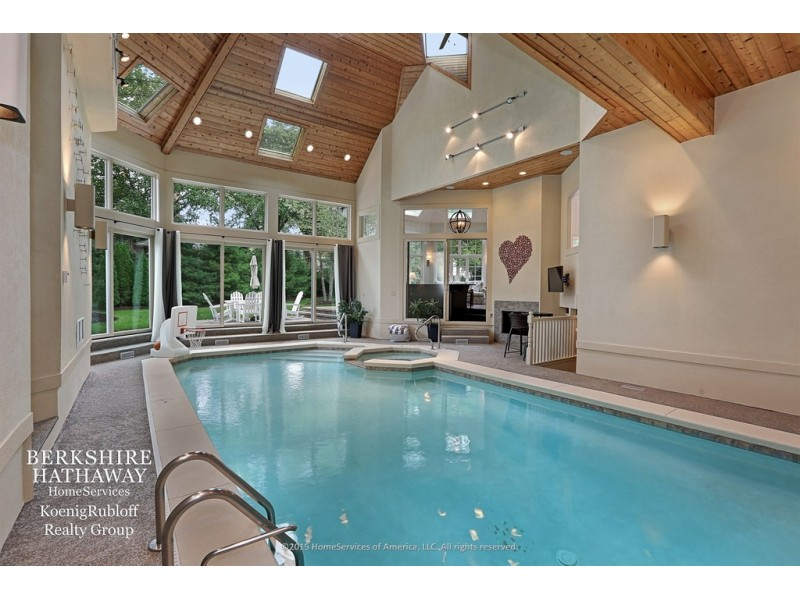 Wow House Two Story Library Indoor Pool 7 Fireplaces