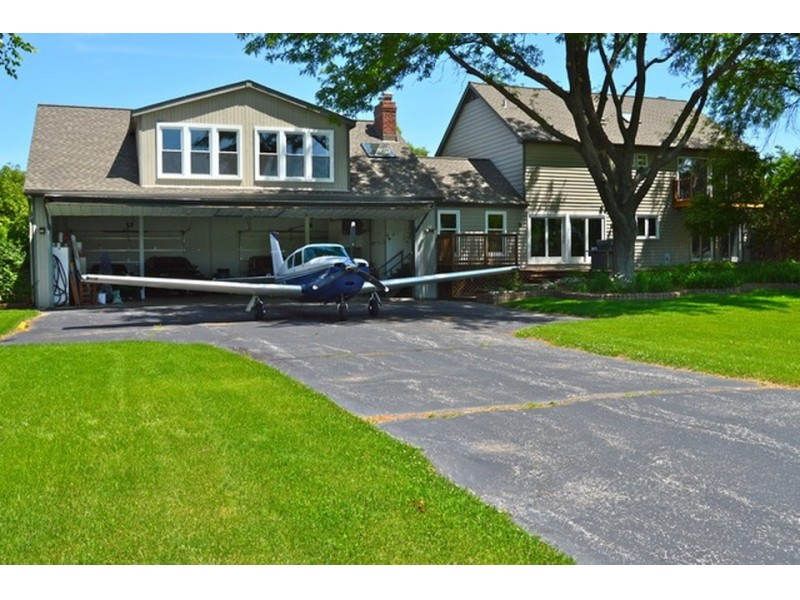 Airplane Hangar Private Runway Among Amenities In This