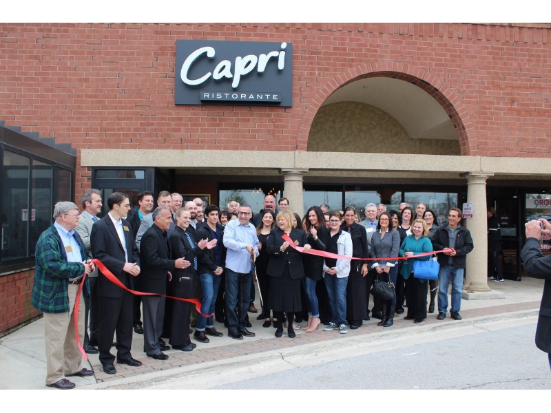 Capri Ristorante Opens With Ribbon Cutting Ceremony Woodridge Il Patch