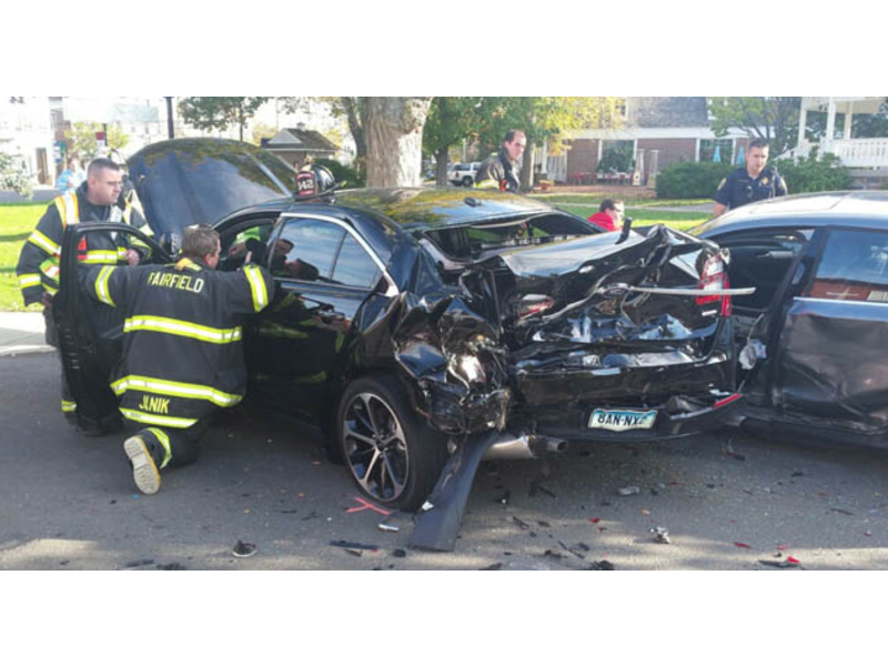 Police Chief Injured in Crash