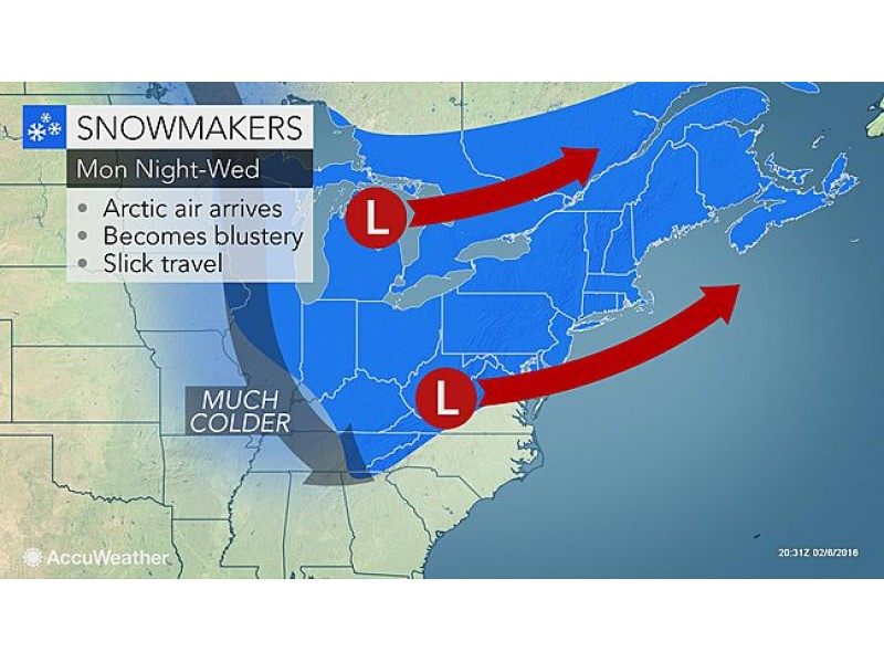 Connecticut Weather Forecast: Snowy Week Ahead   Milford, CT Patch