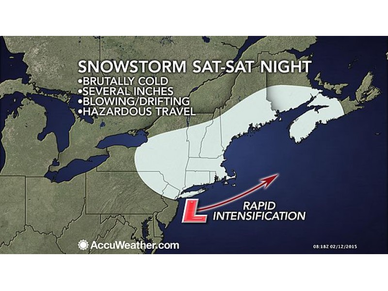 WEATHER ALERT: Snowstorm To Impact Valentineu0027s Day Dinner Plans