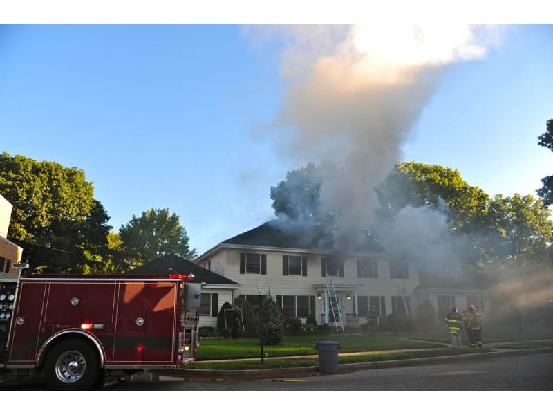 Firefighters Battle Fire Inside St Anne 39 S Rectory Garden City Ny Patch