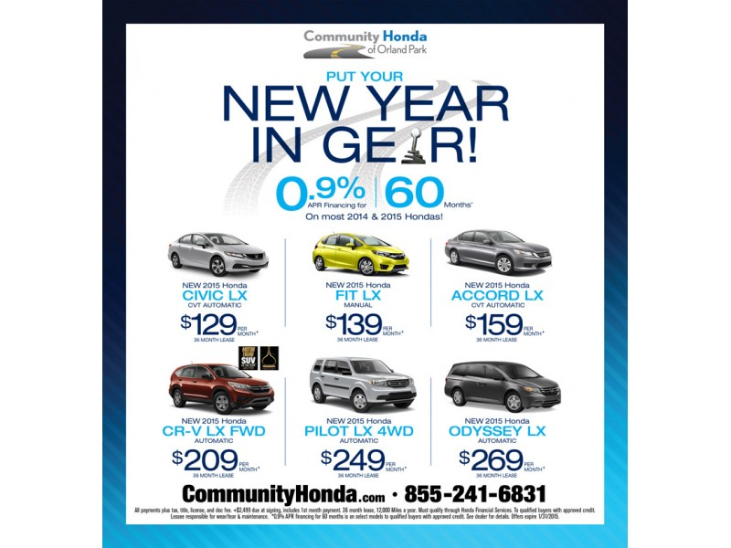 Superb Community Honda New Yearu0027s Sale