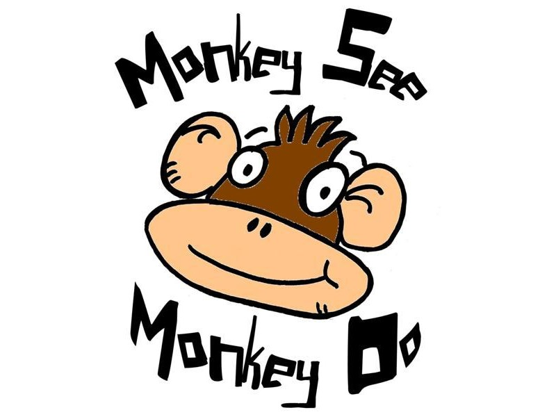 Image result for monkey see monkey do