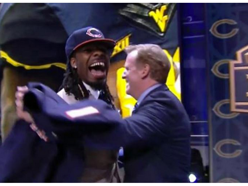 ... Bears Choose Kevin White with 7th Pick  Have Your Say on Chicago s 2015  NFL Draft ... bca053015