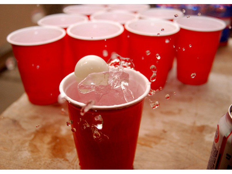 Ping pong beer sexual predator