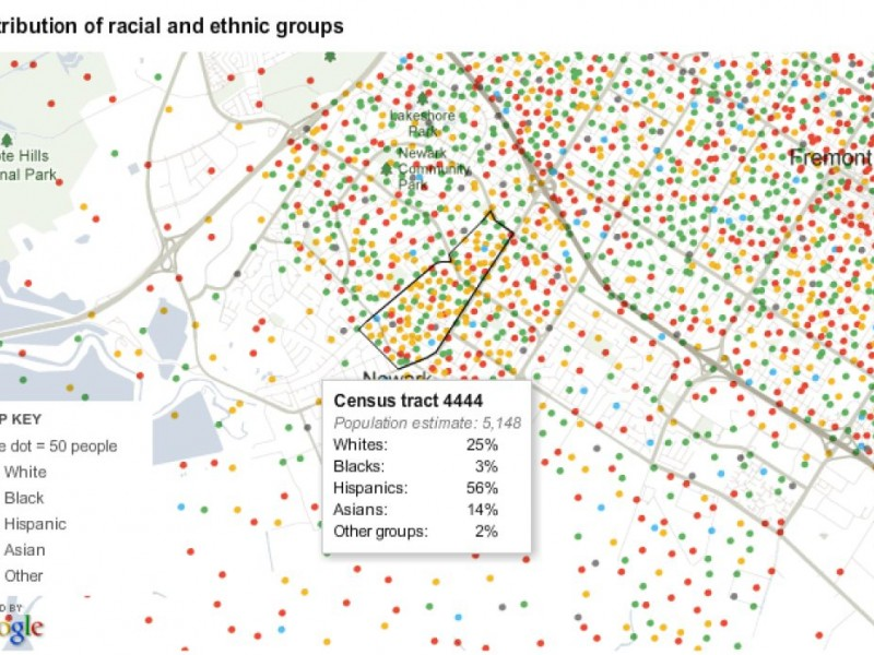 NY Times Map Shows Racial Makeup of Every Block in Newark | Newark ...