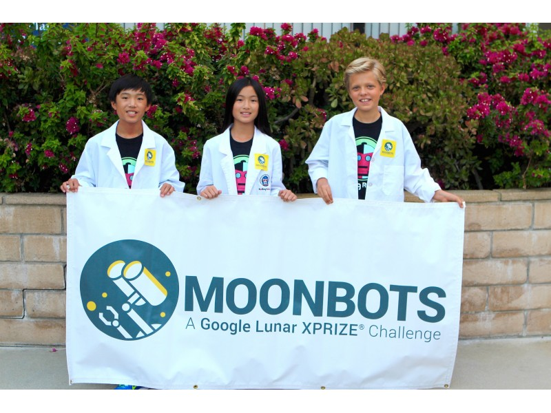 Local Kids Promote Stem Education With A Moon Tale And Robot Palos