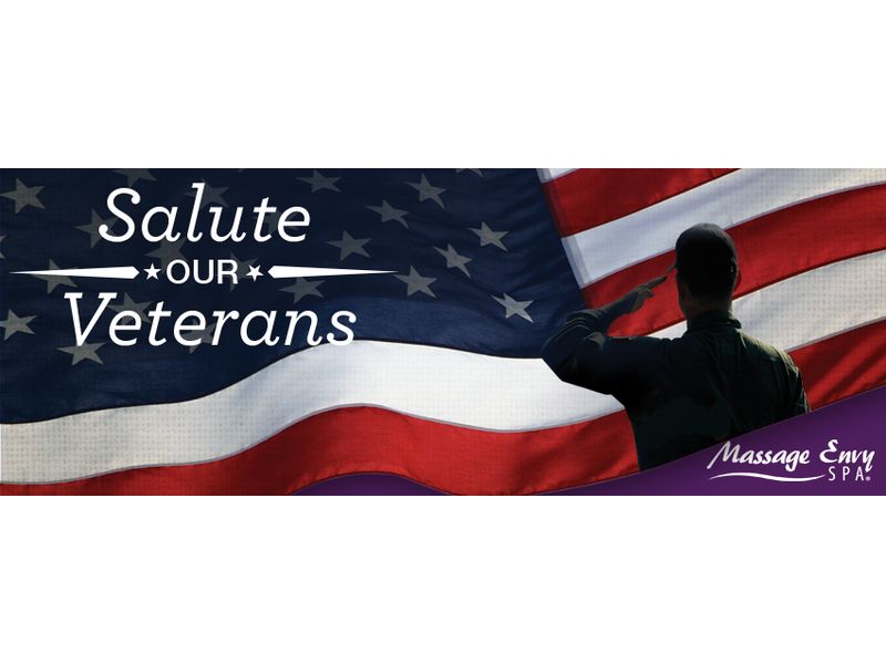 Massage Envy Spa Offers Complimentary Massages On Veterans