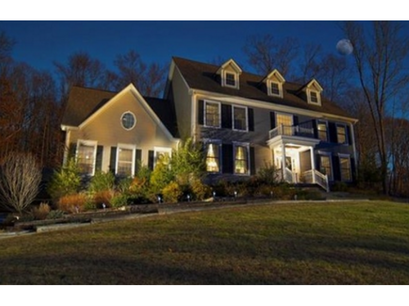 Bethel houses for sale include this custom colonial for Custom colonial homes
