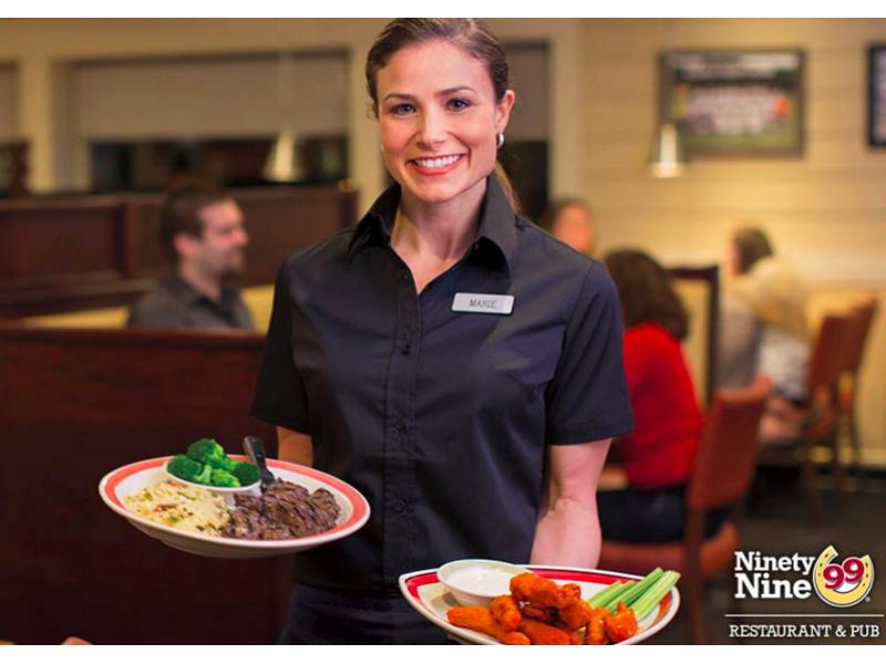 99 Restaurant & Pub Seeks Employees for New Restaurant ...