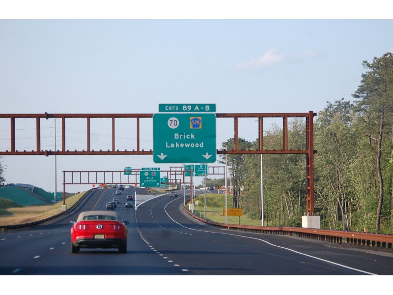 What Exit Parkway Finally Opens New 89a Ramp Toms River Nj Patch