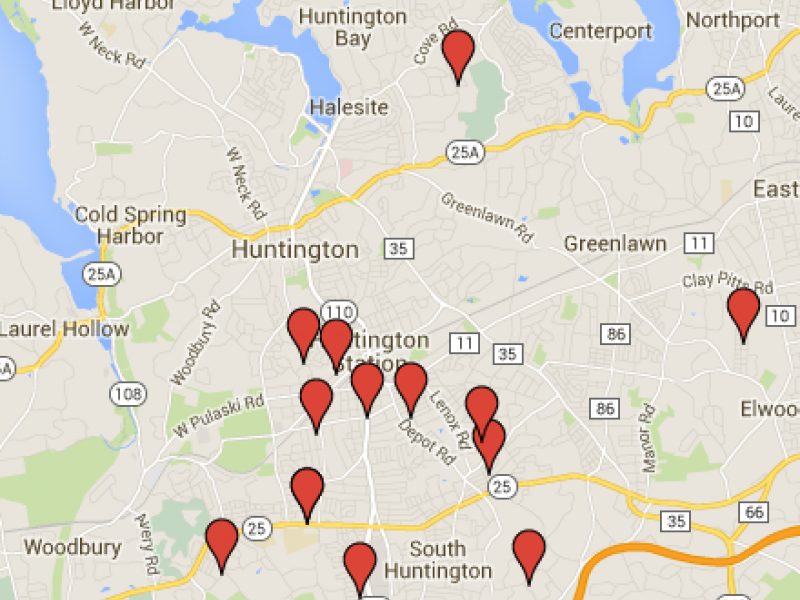Sex Offender Map Huntington Homes to Be Aware of This Halloween