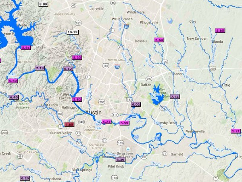 The Woodlands Texas Flooding >> Flooding In Austin Area And Throughout Texas Causing ...