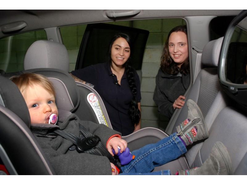 Cumbersome Car Seat
