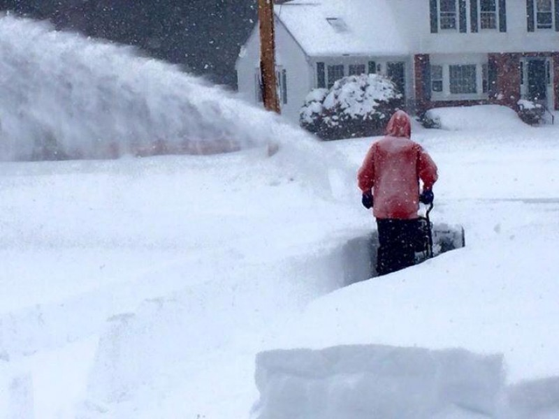 Monday Afternoon Update Multiday Storm Snowfall Totals Danvers - Snowfall totals massachusetts