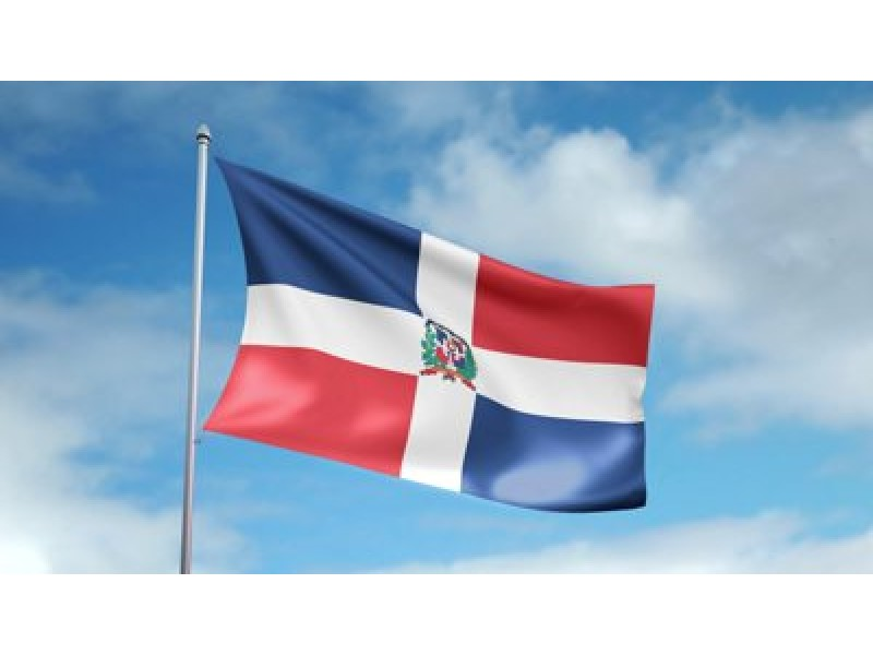 Dominican Independence Flag Raising In Salem To Celebrate - Dominican republic independence day