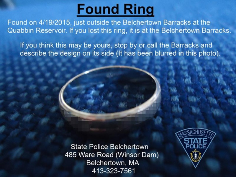 Missing Your Wedding Ring
