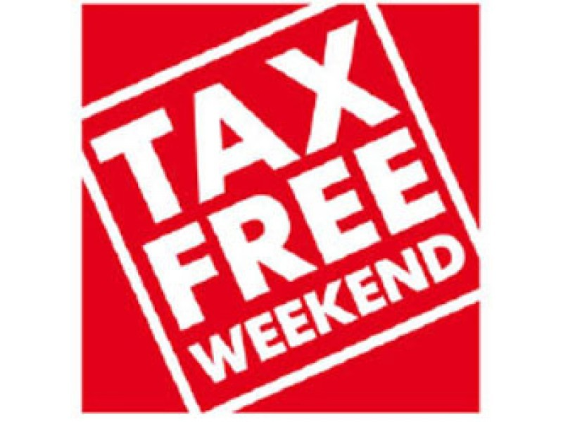 what items are taxable during massachusetts tax free weekend