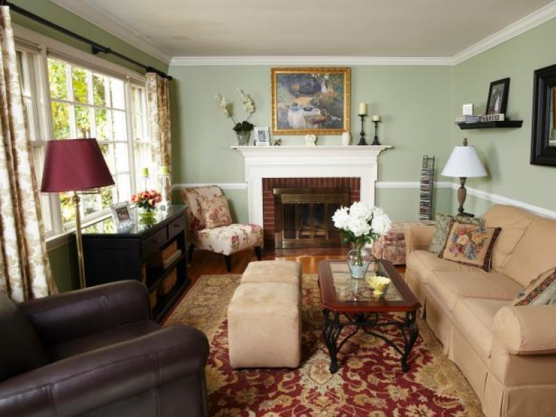 PHOTOS: HGTV Updates Ridgewood Living Room | Ridgewood, NJ Patch