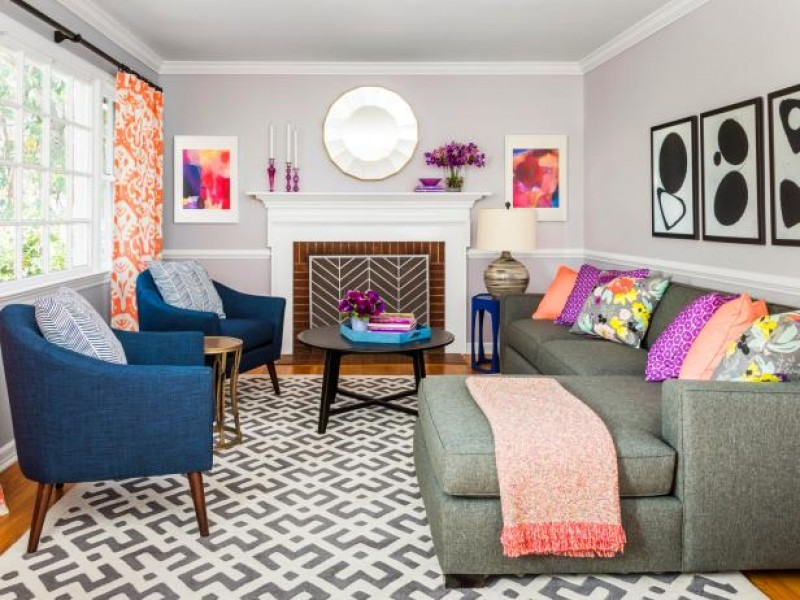 Property Brothers Entry And Living Room Makeover