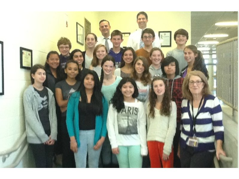 Hampton Bays Middle School Students Nominated For 2014