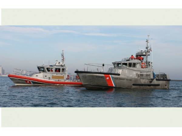Coast Guard Rescue Man From Sinking Boat Off Of Orient