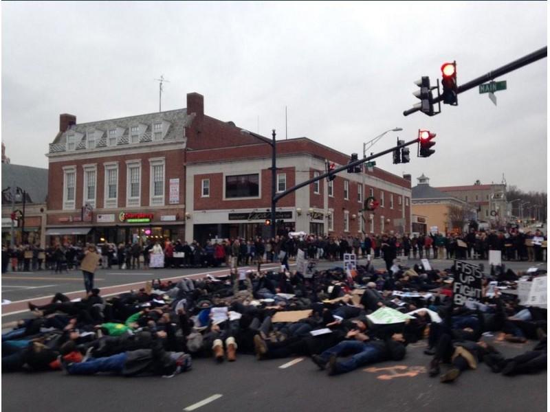 Wesleyan University Students March in Black Lives Matter ...