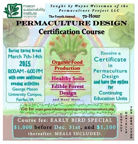 4th Annual Permaculture Design Certification Course (March 7th-14th ...